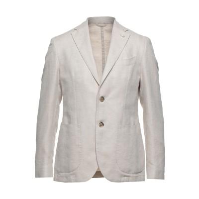 BRANDO テーラードジャケット ベージュ 52 リネン 65% / コットン 35% テーラードジャケット