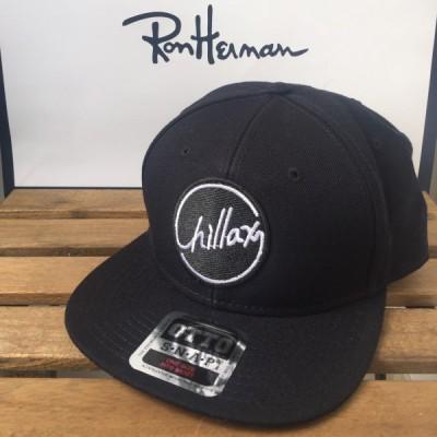 RHC Ron Herman (ロンハーマン): Chillax ロゴ ウールキャップ (Black)
