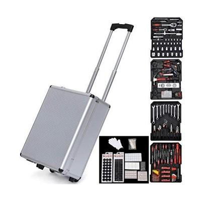 工具セット 1199pcs Iron Black Household Tool Set