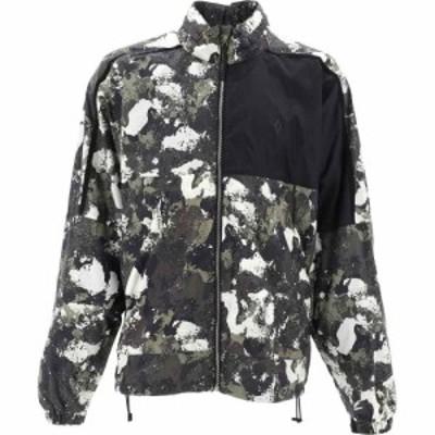 マルセロバーロン Marcelo Burlon メンズ ジャケット ウィンドブレーカー アウター Camouflage Windbreaker Green