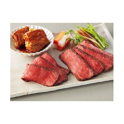 【お中元】<日本料理なだ万> 黒毛和牛ローストビーフ・黒豚の角煮詰合せ 【三越伊勢丹/公式】
