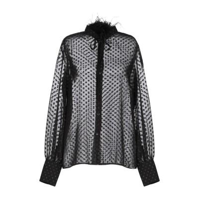 クラス ロベルト カヴァリ CAVALLI CLASS シャツ ブラック 40 ポリエステル 100% シャツ