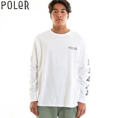 ロンt メンズ ブランド POLER ポーラー tシャツ 長袖 アウトドア ストリート