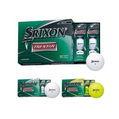 スリクソン SRIXON TRI-STAR 20 ゴルフボール 1ダース [12球入り]