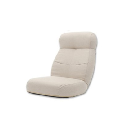 あぐらがかけるポケットコイル入りリクライニング座椅子
