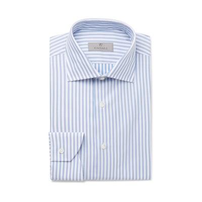 カナーリ CANALI シャツ アジュールブルー 42 コットン 100% シャツ