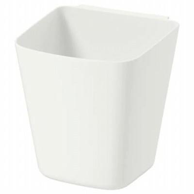 IKEA イケア 小物入れ ホワイト 白 12x11cm n30303736 SUNNERSTA