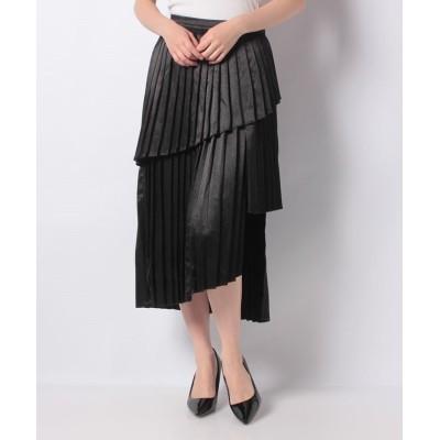 【シップス アウトレット】 SISTER JANE:PLEATS スカート レディース ブラック ONE SIZE SHIPS OUTLET