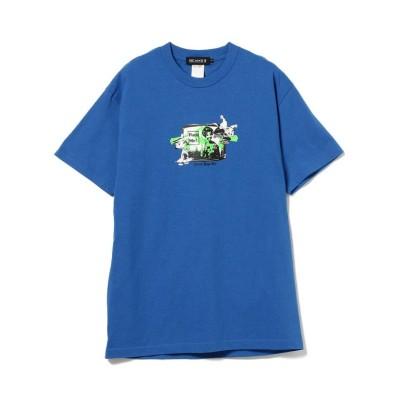 (BEAMS MEN/ビームス メン)BEAMS T / SWEET YOYO T'S × BEAMS T FUCK Tシャツ/メンズ BLUE