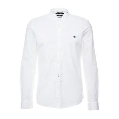 マルコポーロ シャツ メンズ トップス Shirt - white