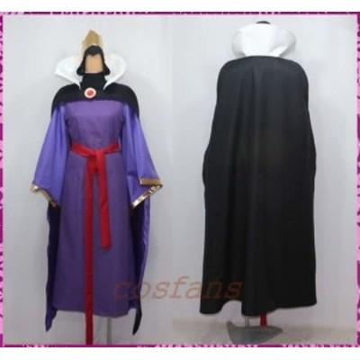 コスプレ衣装 ディズニー 白雪姫と鏡の女王 女王