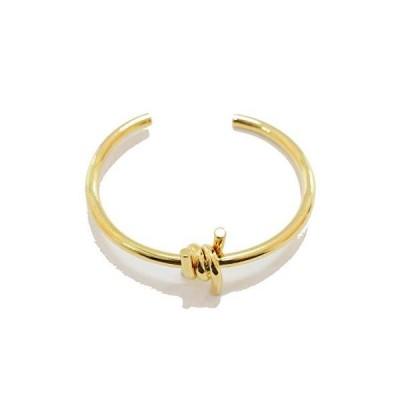 Kkirin Jewelry nod Center Pointed Gold Plated Women Bracelet Bangle並行輸入品 送料