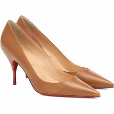 クリスチャン ルブタン Christian Louboutin レディース パンプス シューズ・靴 Clare 80 leather pumps Nude 4