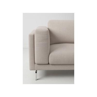 IKEA/イケア NOCKEBY 脚 3人掛けソファ用, クロムメッキ (902.841.84)
