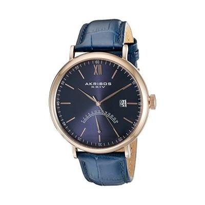 アクリボス Akribos XXIV 男性用 腕時計 メンズ ウォッチ ブルー AK845RGBU