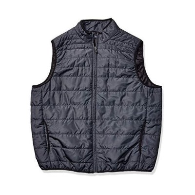 Chaps mens Big and Tall Packable Quilted Down Vest, Museum Grey, XX-Large Tall US