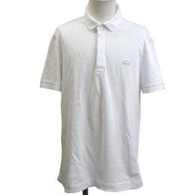 LACOSTE ワッペンポロシャツ ホワイト サイズ:4 (銀座店) 200926