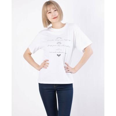 ロキシー ROXY ROXY/ロキシー  ルーズシルエットTシャツ   RST211065 (ホワイト)