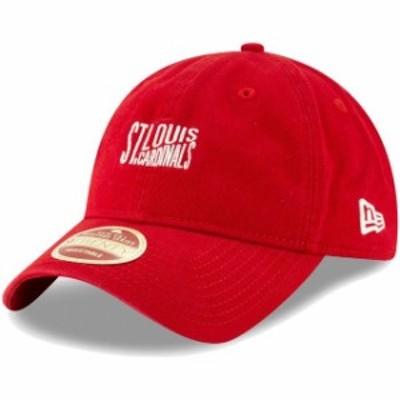 New Era ニュー エラ スポーツ用品  New Era St. Louis Cardinals Red Cooperstown Collection Classic Front 9TWENTY Adjustable Hat