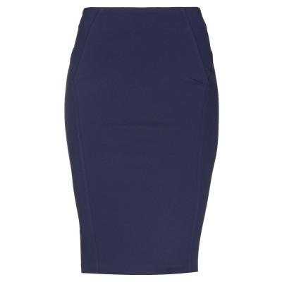ピンコ PINKO ひざ丈スカート ダークブルー 44 65% レーヨン 30% ナイロン 5% ポリウレタン ひざ丈スカート