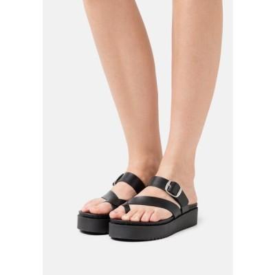 レディース 靴 シューズ DODO - T-bar sandals - black