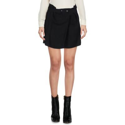 イザベル マラン ISABEL MARANT ミニスカート ブラック 40 65% 麻 35% 指定外繊維(紙) ミニスカート