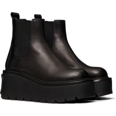 ヴァレンティノ VALENTINO GARAVANI レディース ブーツ チェルシーブーツ シューズ・靴 VLOGO Platform Chelsea Boot Nero