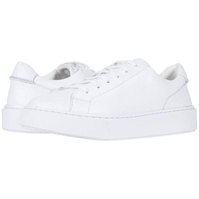 クラークス Hero Lite Lace メンズ スニーカー 靴 シューズ White Leather