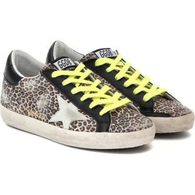 ゴールデン グース Golden Goose レディース スニーカー シューズ・靴 superstar leopard-print sneakers Beige Brown Leo/Ice/Black