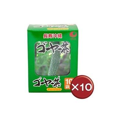 比嘉製茶 ゴーヤー茶 ティーバッグ(10袋入り) 10個セット