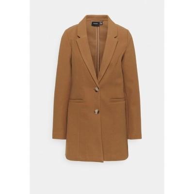ヴェロモーダ コート レディース アウター VMDAFNEJANEY - Classic coat - tobacco brown