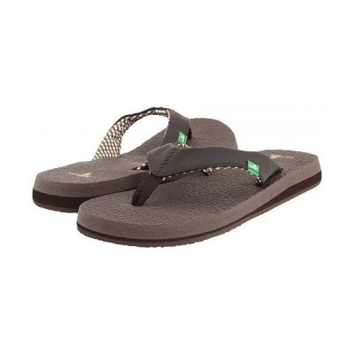 Sanuk サヌーク レディース 女性用 シューズ 靴 サンダル Yoga Mat - Brown