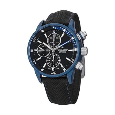 Maurice Lacroix Pontos S Extreme Men's Automatic Chronograph Blue Aluminium Watch PT6028-ALB11-331 並行輸入品