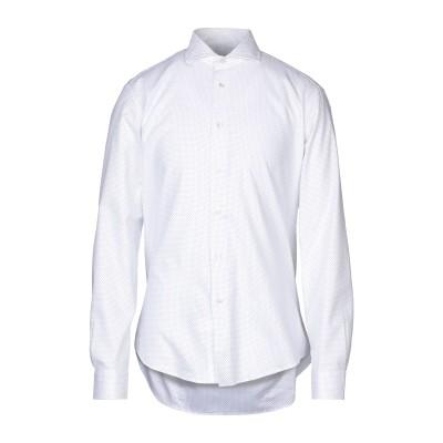 ブライアン デールズ BRIAN DALES シャツ ホワイト 46 コットン 100% シャツ