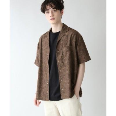 シャツ ブラウス <セットアップ着用可能>総柄プリント開襟シャツ/937195
