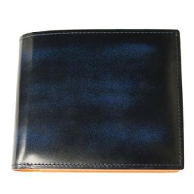 折り財布 |banbi GREDEER 牛革 折財布 小銭入れあり GCKA002S-Z ブルー