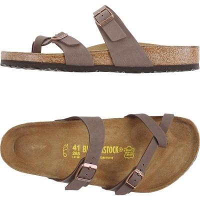 ビルケンシュトック BIRKENSTOCK メンズ ビーチサンダル シューズ・靴 flip flops Light brown