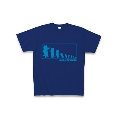 KUTAR Tシャツ Pure Color Print (ロイヤルブルー)