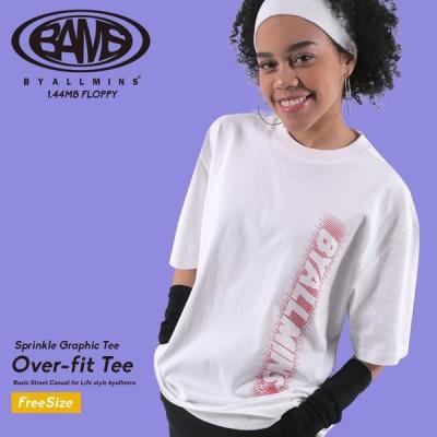 byallmins バイオールミーンズ Tシャツ Sprinkle Graphic Tee ホワイト BM202UCATS002 メンズ レディース ユニセックス 韓国ファッション ブランド
