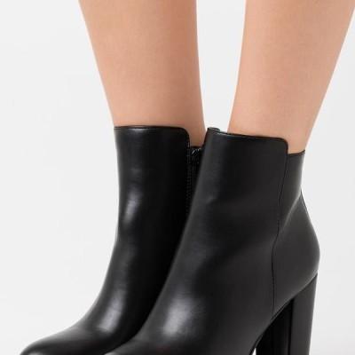 バッファロー レディース 靴 シューズ MELINDA - High heeled ankle boots - black