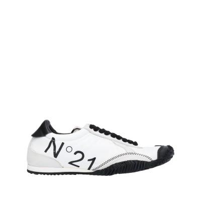 ヌメロ ヴェントゥーノ N°21 スニーカー&テニスシューズ(ローカット) ホワイト 36 紡績繊維 / 革 スニーカー&テニスシューズ(ローカット)