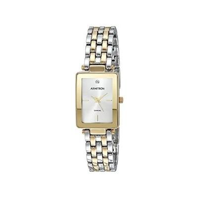 【新品未使用品】Armitron Dress Watch (Model: 75/5769SVTT)【並行輸入品】