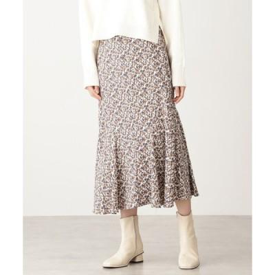 スカート コバナペプラムロングスカート