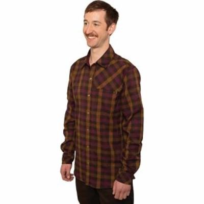 クラブライド Club Ride メンズ シャツ フランネルシャツ トップス Shaka Flannel II Shirt Burnt Cayenne