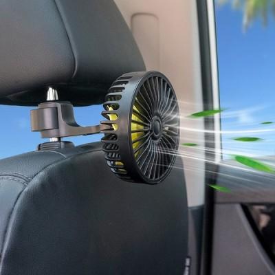 自動車用品車用吸盤式の後列車のファン車載多機能後部座席の扇風機