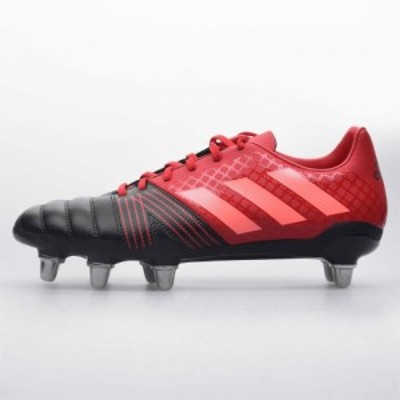 アディダス adidas メンズ シューズ・靴 Kakari Soft Ground Rugby Boots Black/Red