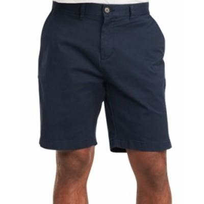 トミー ヒルフィガー メンズ ハーフパンツ・ショーツ ボトムス Men's 9 TH Flex Stretch Shorts Navy Blazer