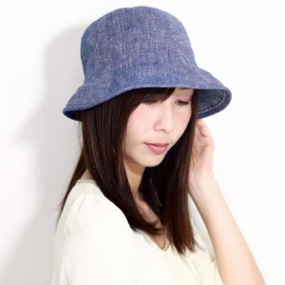 ダックス レディース ハット 春 夏 日焼け対策  daks 帽子 UV チューリップハット DAKS オブザーハ