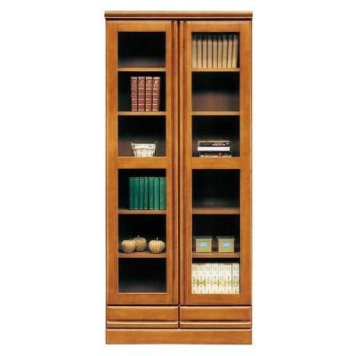 本棚 完成品 書棚 幅80cm SALE セール(開梱設置無料)