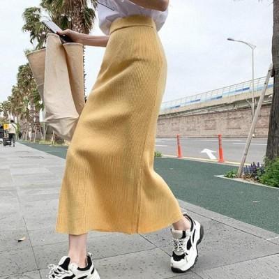 cherryville レディース スカート Bibit Knitwear Skirt